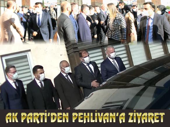 AK Parti'den Pehlivan'a ziyaret
