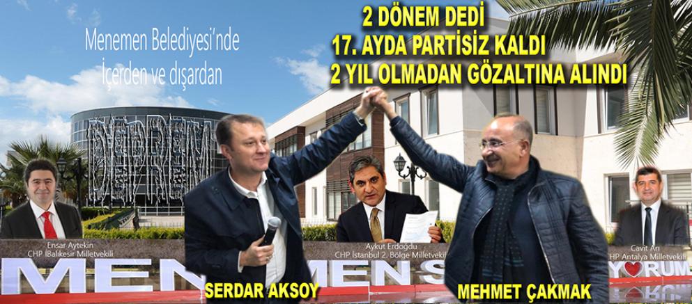 AKSOY VE PERSONELİNE GÖZALTI!