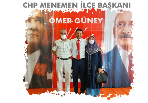 Atanmış başkan Seçimle de başkan oldu; CHP Menemen İlçe Başkanı Ömer Güney