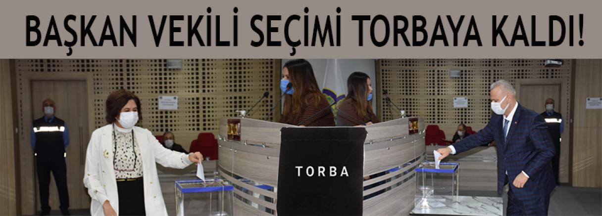 BAŞKAN VEKİLİ TORBAYA KALDI!