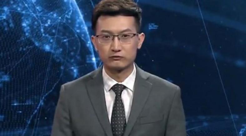 Çin, ilk 'yapay zeka' haber spikerini tanıttı