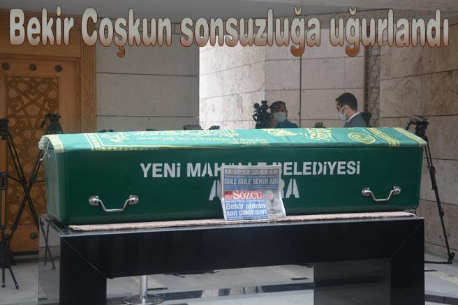 Duayen gazeteci Bekir Coşkun sonsuzluğa uğurlandı