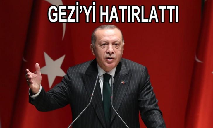 Erdoğan: İnsanlara haklarını kullandırmayan toplumlar medeni olamaz