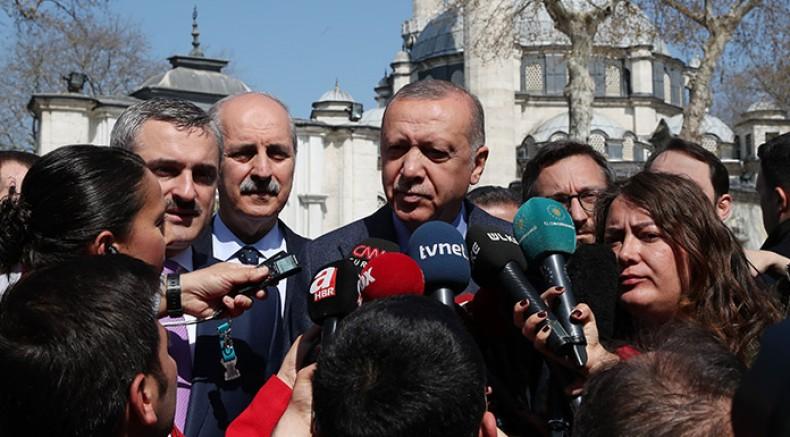 Erdoğan: YSK nihai kararı verdiği andan itibaren iş bitmiştir