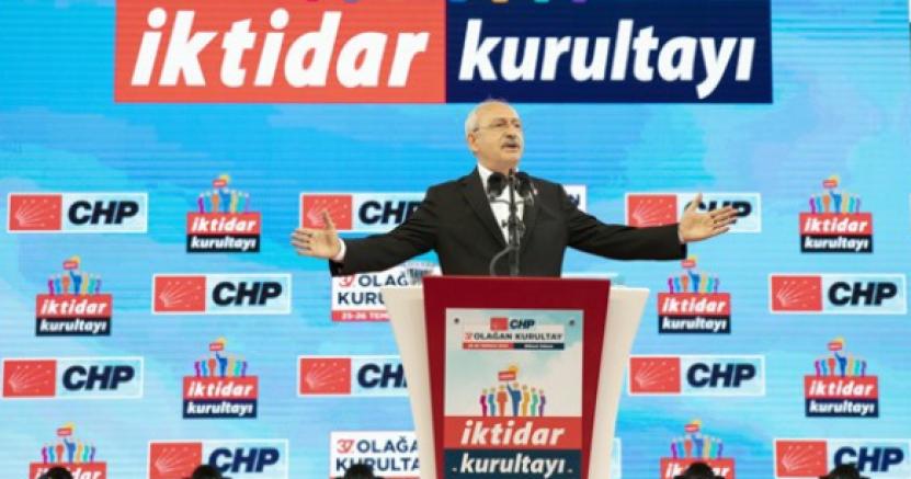 Kemal Kılıçdaroğlu yeniden CHP Genel Başkanı seçildi