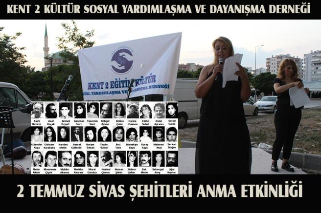 KENT 2 EĞİTİM KÜLTÜR SOSYAL YARDIMLAŞMA DERNEĞİ'NDEN ANLAMLI ANMA!
