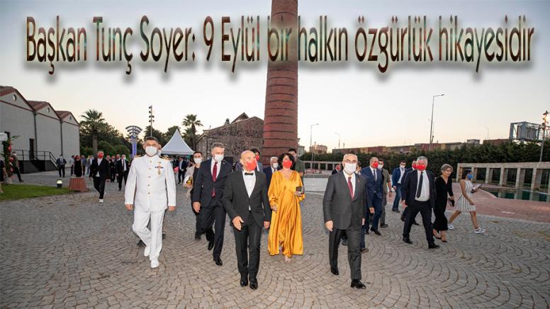 Kurtuluşun 98. yıldönümü resepsiyon ile kutlandı Başkan Tunç Soyer: 9 Eylül bir halkın özgürlük hikayesidir