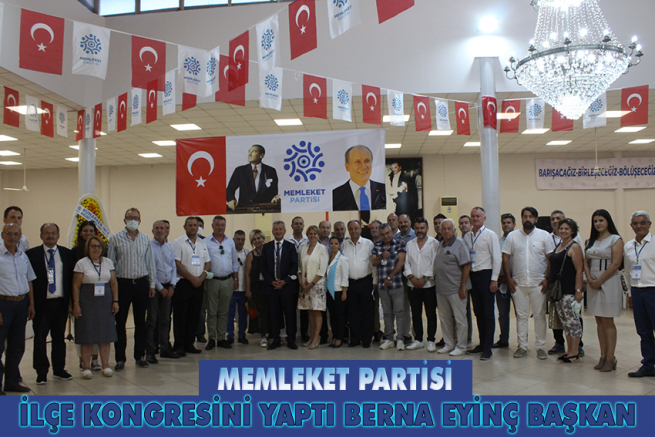 MEMLEKET PARTİSİ MENEMEN'DE İLK KONGRESİNİ YAPTI