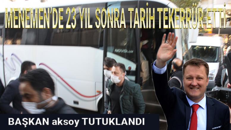 MENEMEN BELEDİYESİNDE DEPREM!
