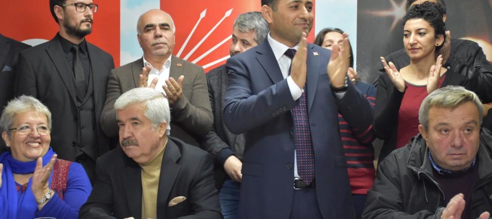 Menemen CHP'den  GÜNEY'e  destek.