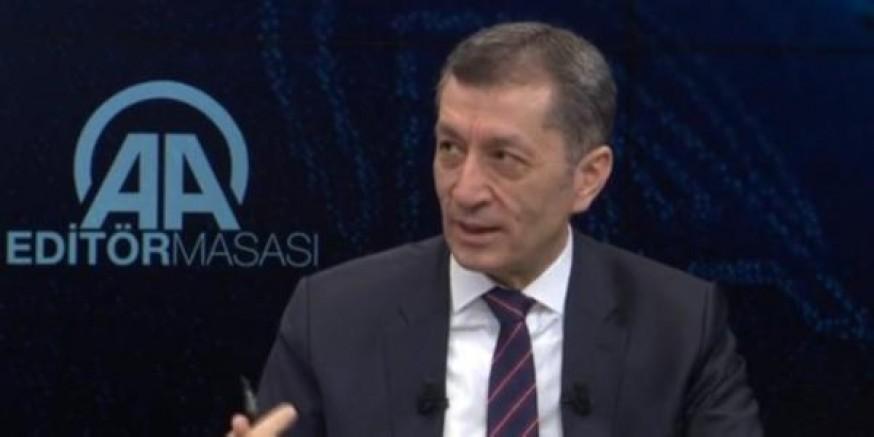 Milli Eğitim Bakanı Ziya Selçuk'tan 'yoğun bakım' itirafı
