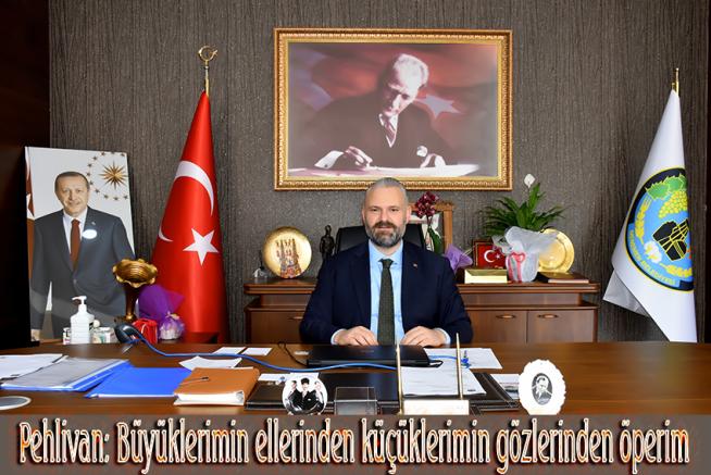 PEHLİVAN'DAN BAYRAM MESAJI