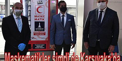 Maskematikler şimdi de Karşıyaka'da