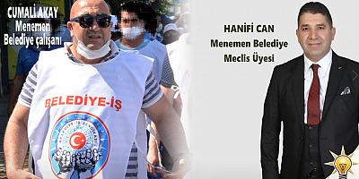 """Menemen AK PARTİ İlçe Başkanı Yüksel: """"BURASI DAĞ BAŞI DEĞİL!"""""""