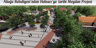 Tarihi Helvacı Kent Meydanı Projesi Gün Sayıyor