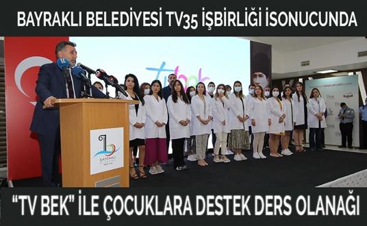 """""""TV BEK"""" İLE ÇOCUKLARA DESTEK DERS OLANAĞI"""