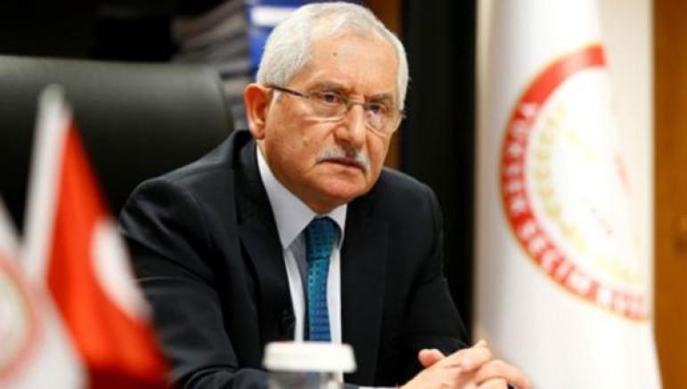 YSK Başkanı Sadi Güven AKP'nin 'gerekçe'sini kabul etmedi